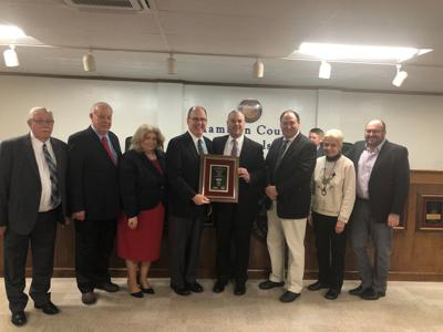 Hamblen County School Board recognized