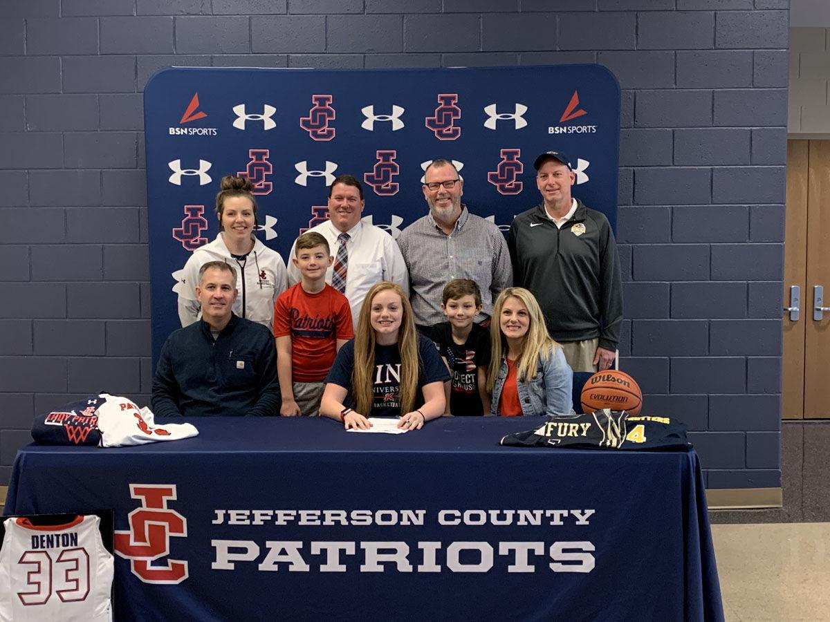 Jeff County's Denton signs with King University