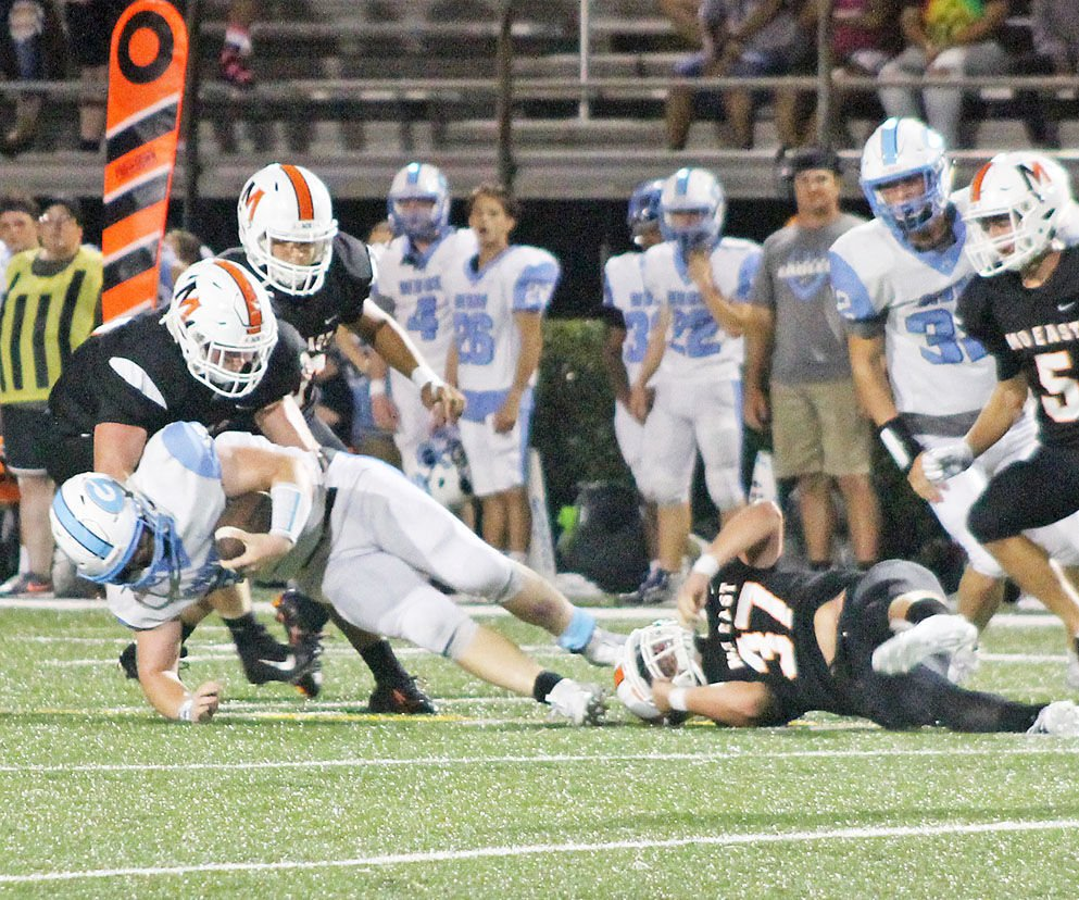 Gibbs pulls away in the fourth quarter, takes down East on homecoming