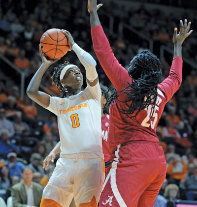 Davis hits go-ahead 3, No. 23 Tennessee women beat Alabama