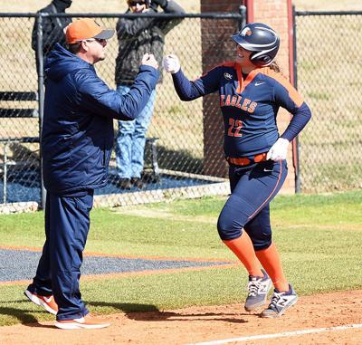 C-N softball hits five home runs, sweeps Converse