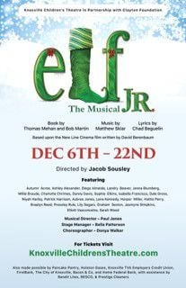"""""""Elf: The Musical Jr."""" staged by the Knoxville Children's Theatre"""