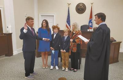 Phillips sworn in as new Circuit Court Judge