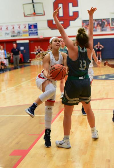 First quarter deficit too much for Lady Patriots to overcome