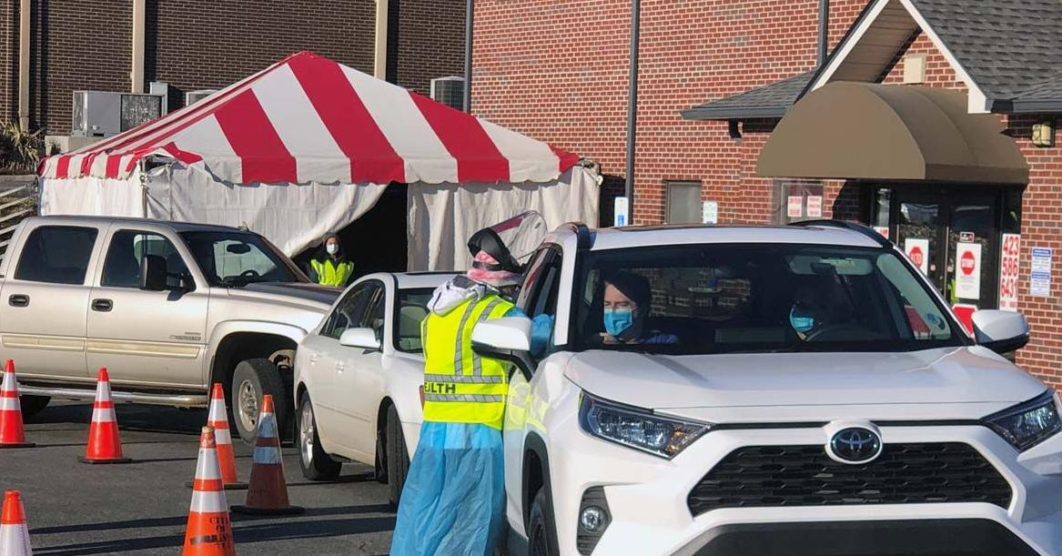 Health Department experiments with drive-through vaccinations