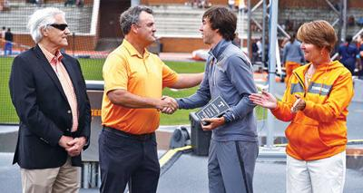 Zach Long named most outstanding Tennessee track and field male athlete