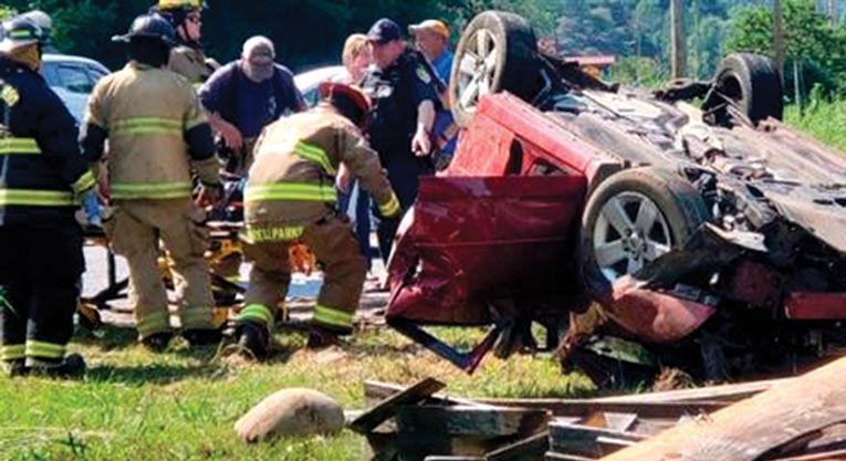 One injured in single vehicle crash in Cocke County