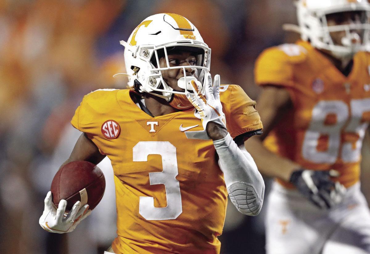 Vols freshman runs for 246 yards in 28-10 win over Vanderbilt