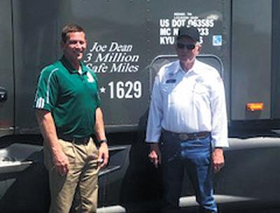 Dean reaches 3 million safe driving accident free miles
