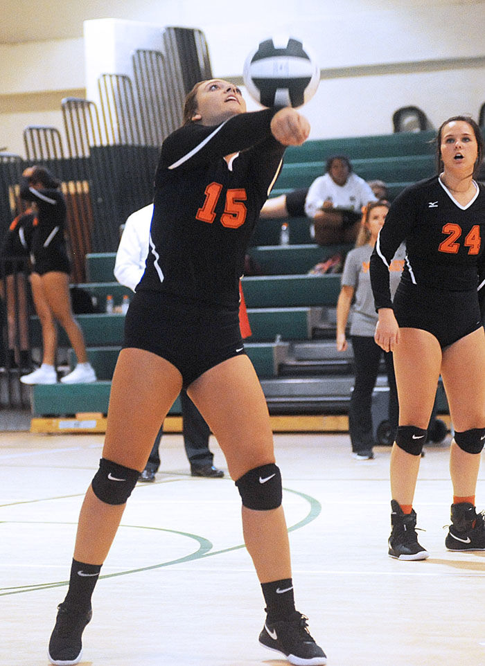 Lady 'Canes fight past Greeneville in four sets