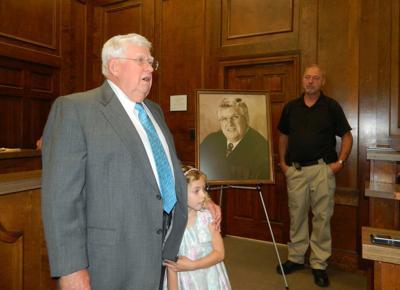 Hooper portrait unveiled