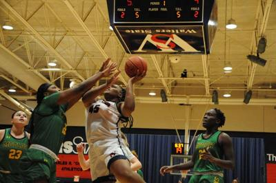 Hill records double-double as Walters State cruises past Motlow State