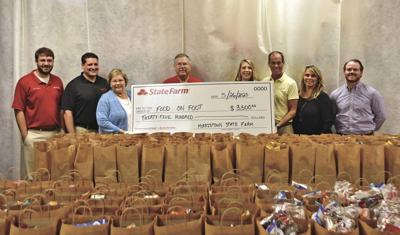 State Farm agents donate to Food on Foot