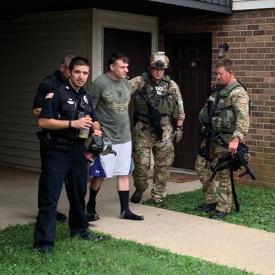 Morristown Police end standoff peacefully