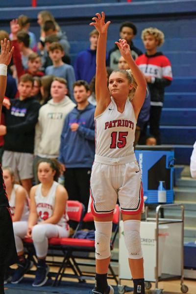 Lady Patriots defense leads the way to 40-14 win over Morristown East