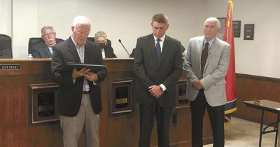 Perry honored for COVID leadership