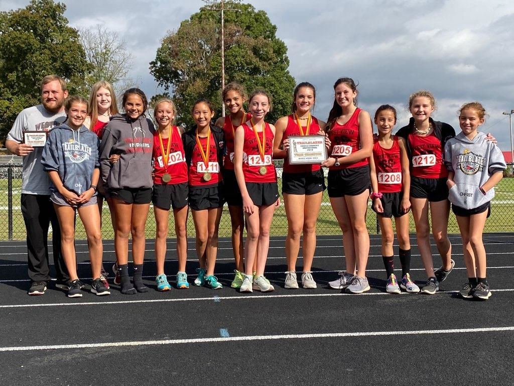 West View Boys, Girls dominate Trailblazers Regional cross country meet