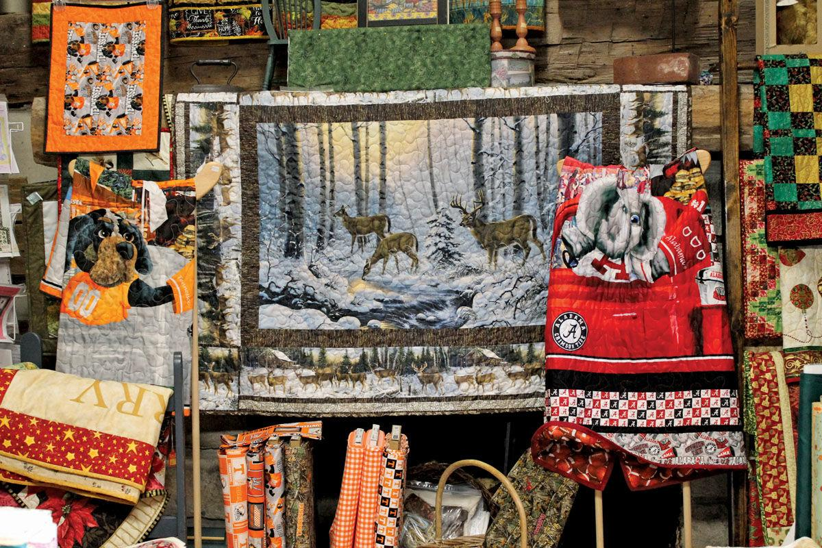Cosby quilt shop a  lifelong dream for owner