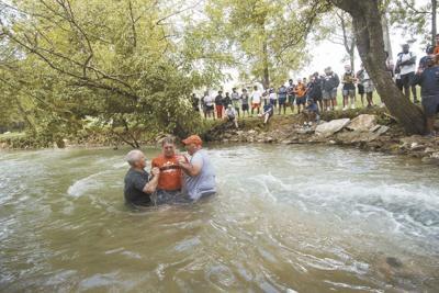 Carson-Newman baptizes 11 football players