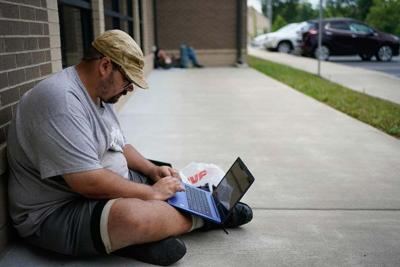Rural families without internet face tough choice