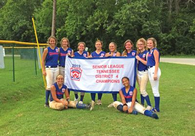 Senior League girls finish third in state tournament
