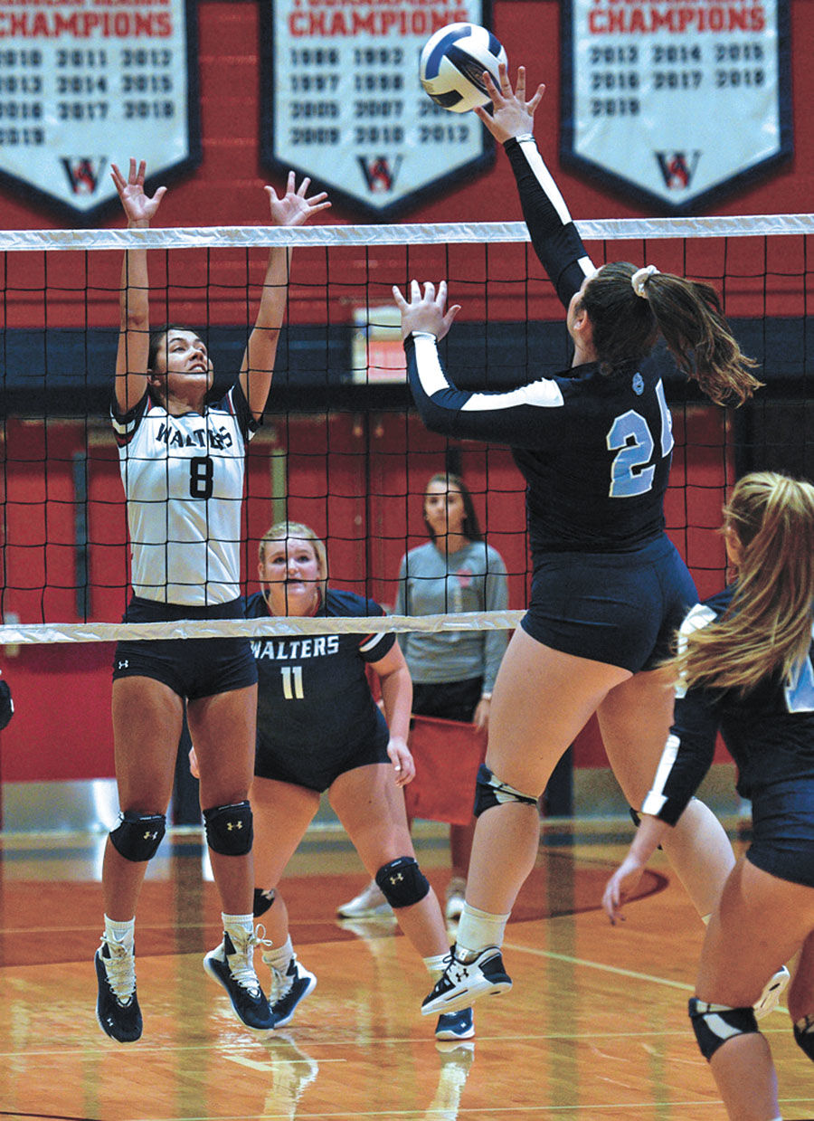 15 service aces propel Walters State over Lady Cougars