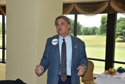 Former Johnson City mayor stops in Morristown, talks job creation