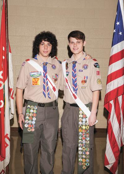 Two from Morristown recognized as Eagle Scouts