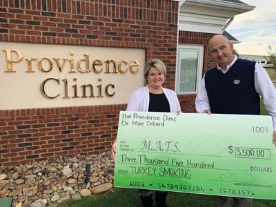 Providence Clinic helps kick-off MATS turkey sales