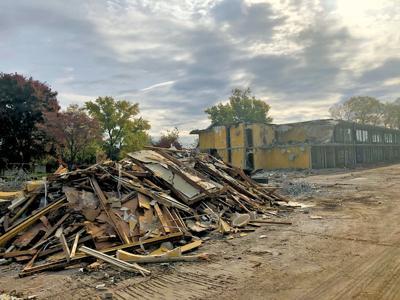 Demolition underway at former Holiday Inn on West AJ