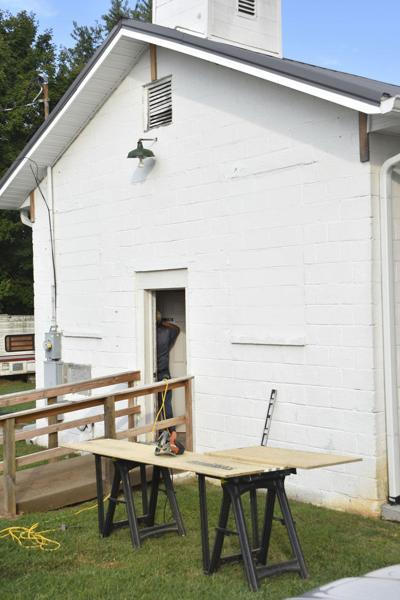 Church renovations nearly complete