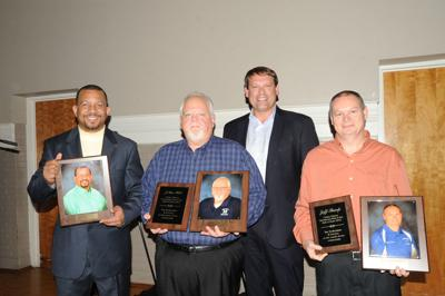 Hill, Thompson and Tharp inducted into Parks and Rec Hall of Fame
