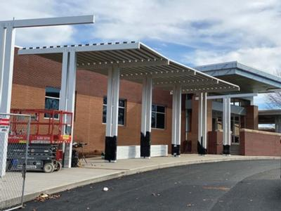 Perry: West construction nearing completion