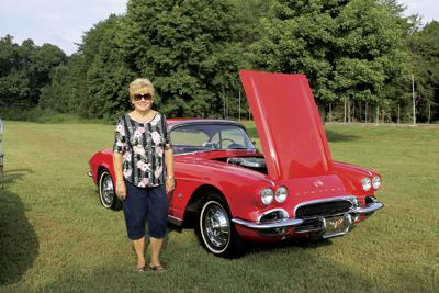 Panther Creek State Park hosts car show