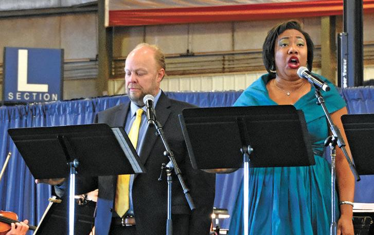Knoxville Opera plays for local students at Great Smoky Mountains Expo Center