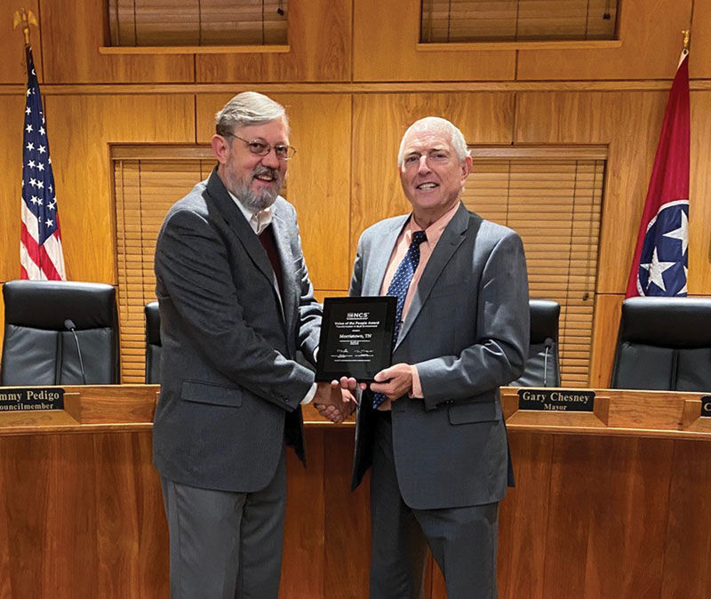 Morristown government recognized for Citizens Survey