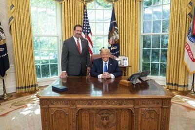 Rep. Faison visits White House