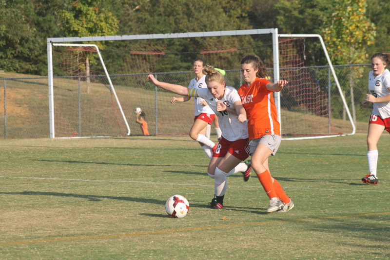 Lady 'Canes down Cocke County with 8-goal barrage