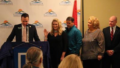 Lakeway Area Association of REALTORS swears in new president