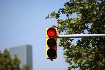 New traffic lights up and running