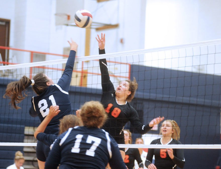 JCHS rebounds with five-set win over Lady 'Canes