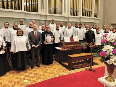 Anthem written for FUMC organist