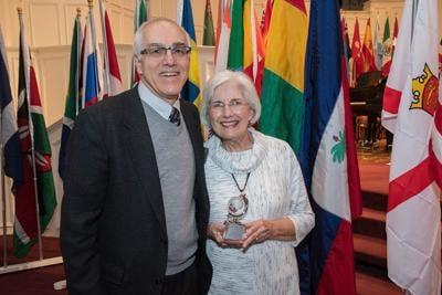 Shoemaker presented CNU award