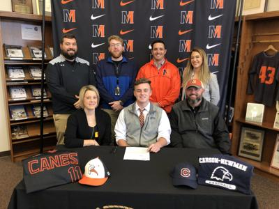 Johnson signs with Carson-Newman