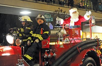 Morristown Christmas parade brings