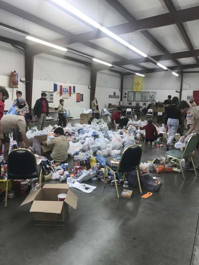 Scouting for Food makes impact for local families, gathers 15,350 food items