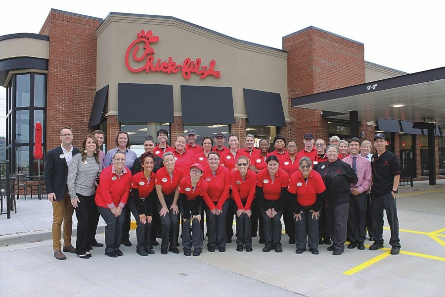 Chick-fil-A reopens after remodel