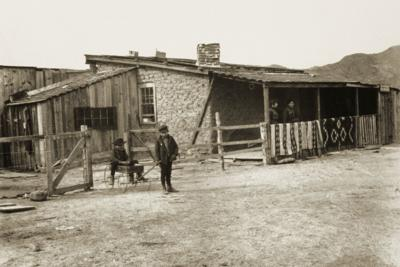 Cave Creek Station c. 1903