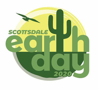 Earth Day 2020 logo for pagelet