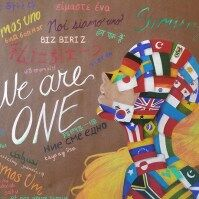 Young Artists and Authors Showcase: 'One World: Out of Many, We Are One'